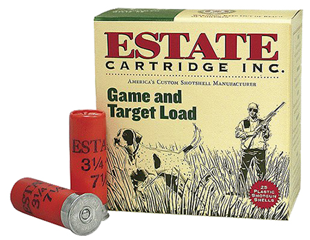 "Estate GTL209 Promo Game Target Loads 20 ga 2.75"" 7/8oz 9 Shot 25Box/10Case"