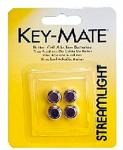 Streamlight 72030 Key Mate 4 Pack Alkaline Button Cell Silver