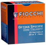 "Fiocchi 203HV75 High Velocity Shotshells 20 ga 3"" 1-1/4oz 7.5 Shot 25Box/10Case"