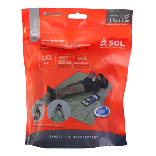 SOL Series Heavy Duty Emergency Blanket