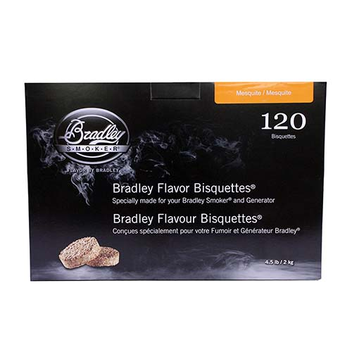 Smoker Bisquettes Mesquite (120 Pack)