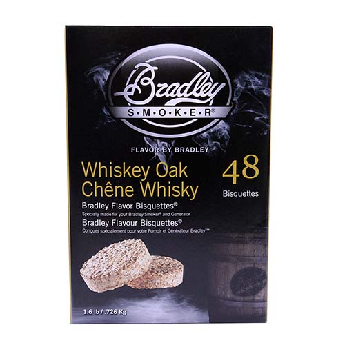 Smoker Bisquettes Whiskey Oak Special Edition, 48 Pack