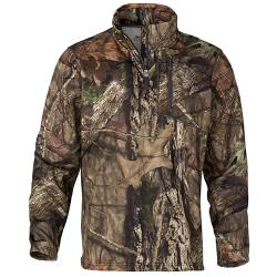 Hells Canyon Alacer-WD 1/4 Zip Pullover Mossy Oak Break-Up Country, Large