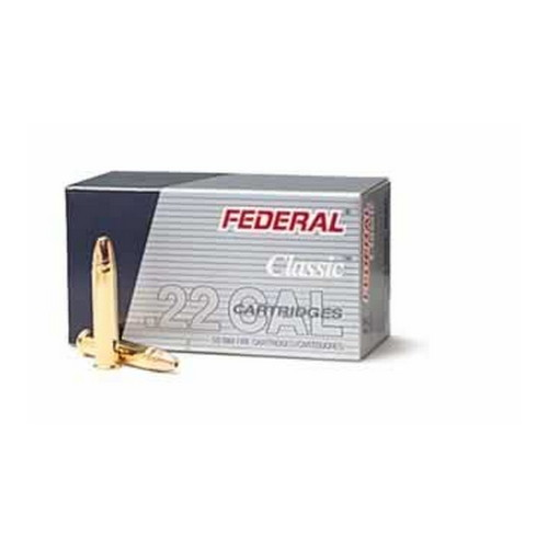 22 Long Rifle Game-Shok, High Velocity, 38 Grains, Plated Lead Hollow Point, Per 50