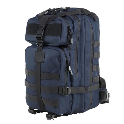Small Backpack Blue w/Black Trim