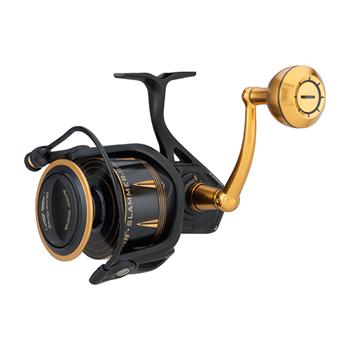 "Slammer III Spinning Reel 8500, 4.7:1 Gear Ratio, 42"" Retrieve Rate, 50 lb Max Drag, Ambidextrous"