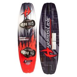 Hydroslide Black Widow Wakeboard with Chaser Binding