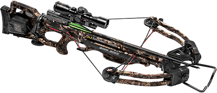 18 Turbo GT Crossbow Pkg w/3X Proview 2 Scope + Acudraw
