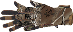 Bow Stalker Fleece Glove Realtree Xtra Camo Large
