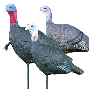 Love Triangle Flock Decoy