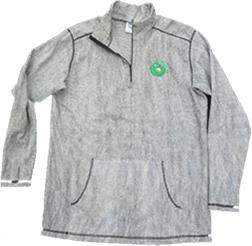 Gator Skin Thermal Zippered Shirt Large
