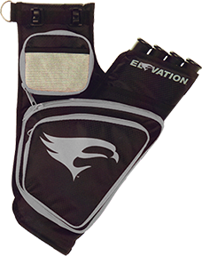 Elevation Trasition Quiver Black/Silver 4 Tube Left Hand
