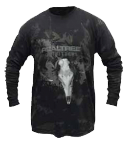 Realtree Outfitter Extreme Antler L/S Shirt Charcoal 2X