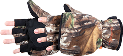 Bowhunter Convertible Glove/ Mitten Realtree Xtra Medium