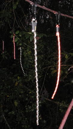 Reflector Rope Trail Markers