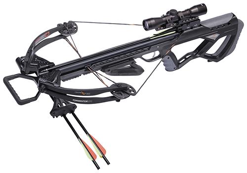 16 Tormentor 370 Black Crossbow Package