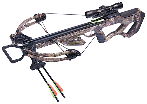 16 Tormentor 370 Camo Crossbow Package