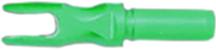 Aluminum R .204 Satin Green Nock