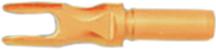 Aluminum R .204 Satin Orange Nock