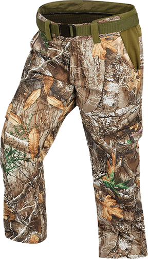 Womens Heat Echo Light Pants Realtree Edge Camo Large