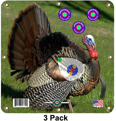 "Arrow Mat Turkey Target 17""x17"""