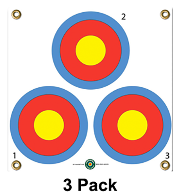 "Arrow Mat 3 Spot Target 17""x17"" * Sold in Eaches *"