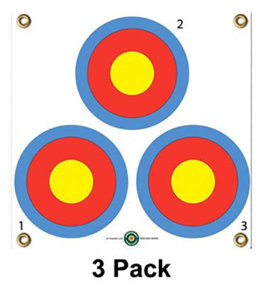 """Arrow Mat 3 Spot Target 17""""x17"""""""