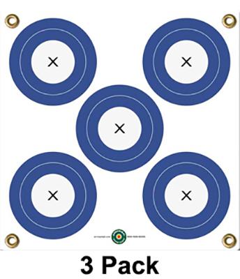 """Arrow Mat 5 Spot Target 17""""x17"""""""