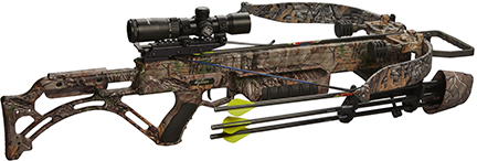 18 Matrix Bulldog 400 Crossbow w/Tact Zone L.S.Pkg Xtra Camo