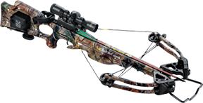 15 Turbo XLT II Crossbow Pkg 3X Pro View Scope w/ACUDRAW