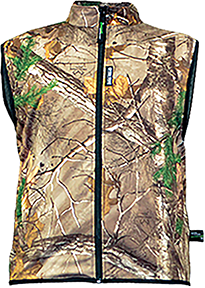 Cold Canyon Waterproof Fleece Vest Realtree Edge Camo Medium