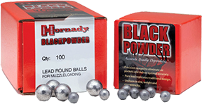 Hornady Lead Balls .490 Dia Rifle