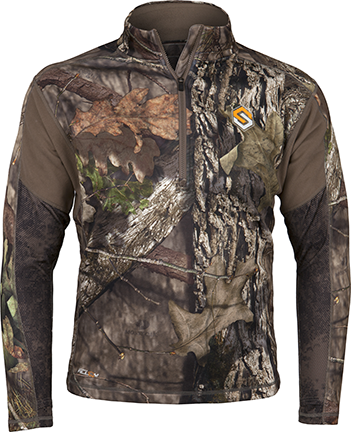 Baselayer AMP Midweight Top Realtree Edge 2Xlarge