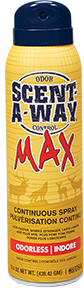 * HS Scent-A-Way Max Continuous Spray Unscented 15.5oz