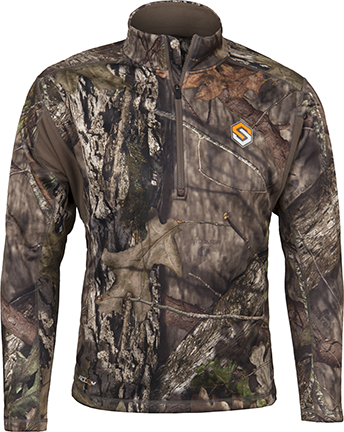 Baselayer AMP Heavyweight Top Realtree Edge Xlarge
