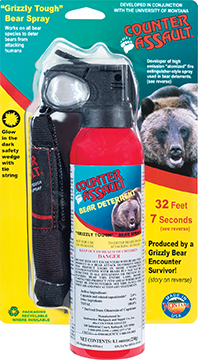 *Counter Assault Bear Deterrent w/Holster 8.1 oz.