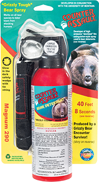 *Counter Assault Bear Deterrent w/Holster 10.2 oz.