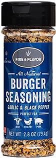 Fire and Flavor Seasonings Burger Seasoning