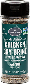 Fire and Flavor Chicken Dry Brine Herb