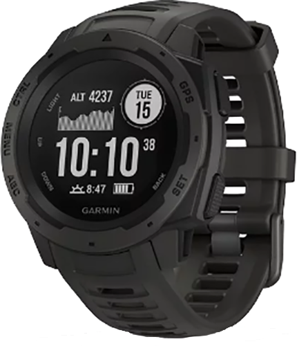 * Garmin Instinct GPS Watch Graphite