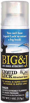 Big and J Liquid Luck Aerosol Spray 12 oz.