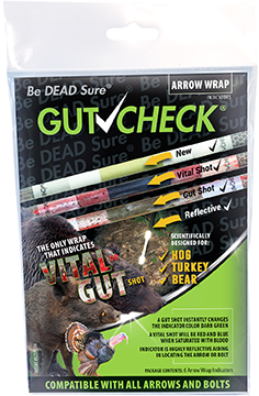 Gut Check Arrow Wrap Indicator Hog Turkey Bear