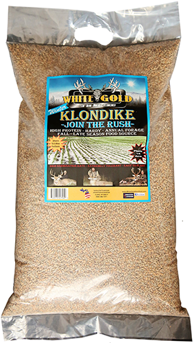 White Gold Winter Klondike Seed 25 lbs.