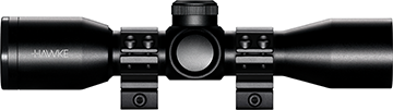 Hawke XB Crossbow Scope w/Rings 3x32 Illuminated XB SR Reticle