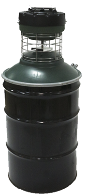 Barrel Feeder-Capsule Feeder 55 Gallon Drum (Not Included)