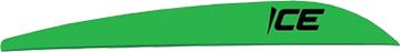 "Bohning Ice 3"" Vane Neon Green"