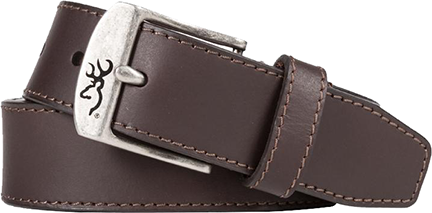 "Mens Browning 38"" Basic Buckmark Belt Brown"