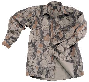 Bush Shirt Natural Camo XL