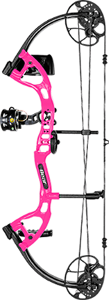 "Bear Cruzer Lite RTH Package RH Flo Pink 12-27"" 5-45#"
