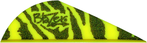 "Blazer Vanes 2"" Yellow Tiger"